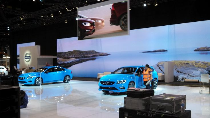 2014 Chicago Auto Show - Volvo BoothRigger & LD Assistant2XD Productions