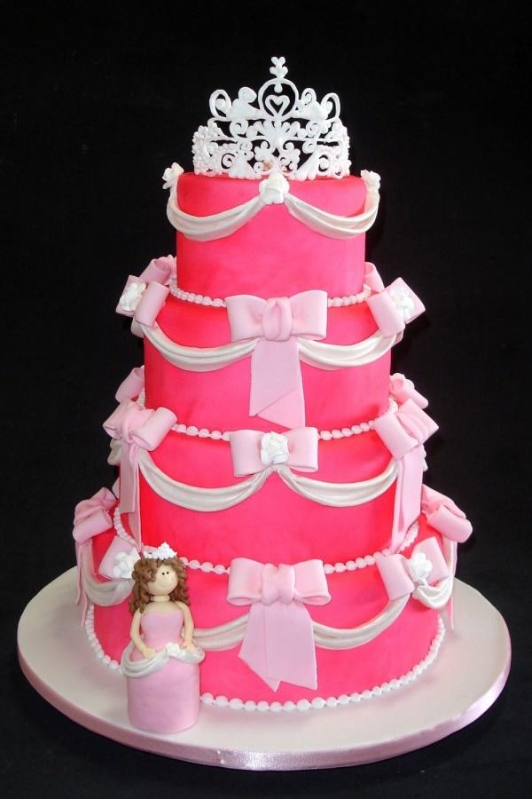 How to make a pink princess cake