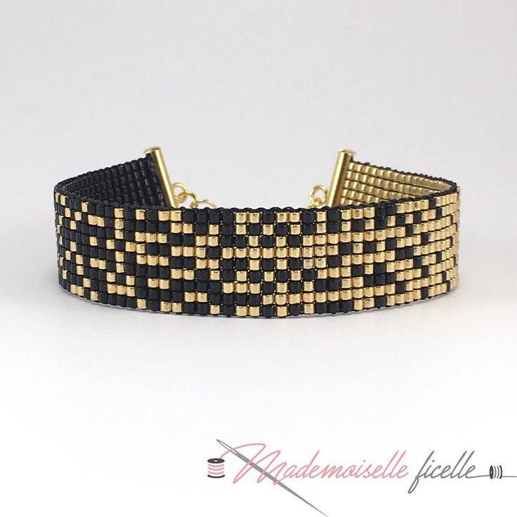 Et voilà le bracelet terminé ✨✨ #jenfiledesperlesetjassume #jenfiledesperlesetjaimeca #jewels #bracelets #fashion #diy #handmade #madewithlove #perlescorner #miyukibeads #miyukiaddict