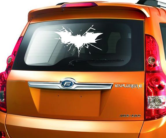 Batman crash dark knight unique decal stickers for car trucks suv windows http