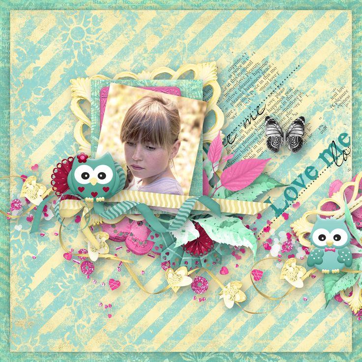 """Owl My Love"" by Aurélie Scrap, https://digital-crea.fr/shop/index.php?main_page=index&manufacturers_id=199, photo Pezibear, Pixabay"