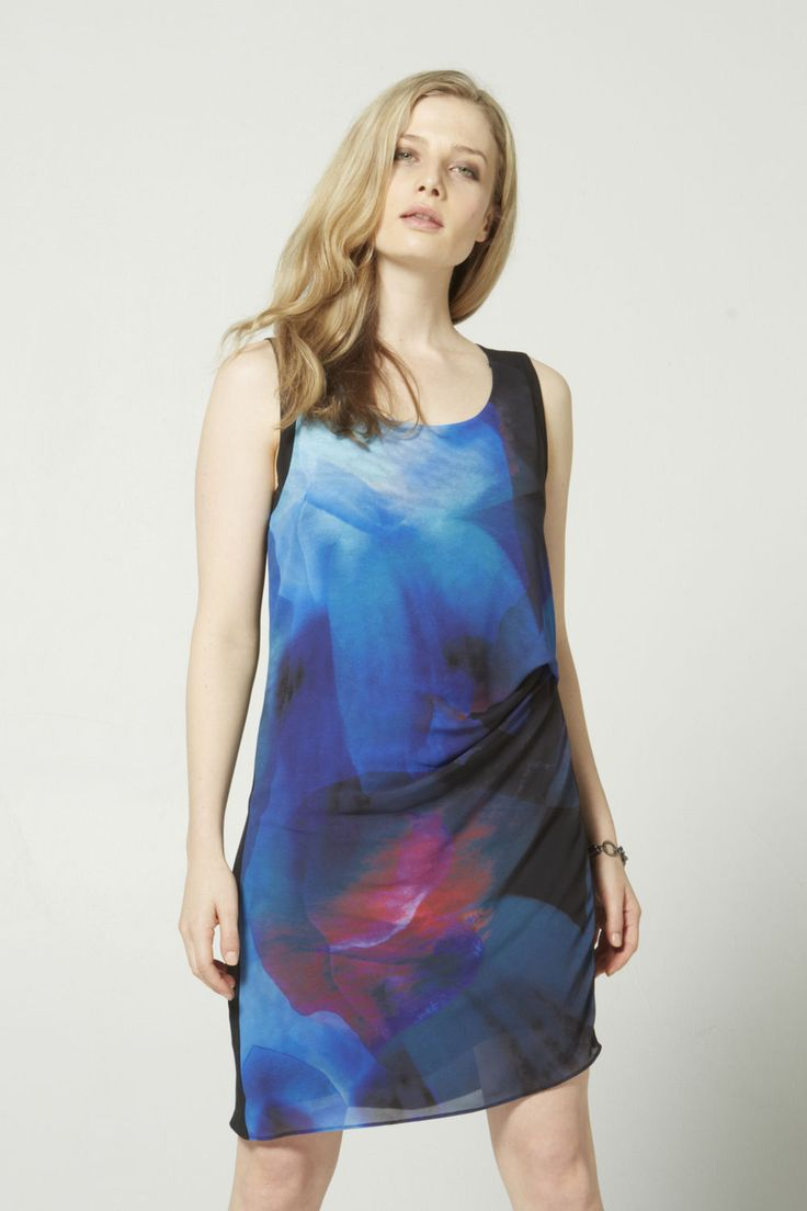 Abstract Floral Tunic $139