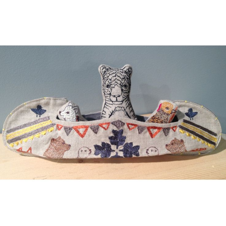 Coral and Tusk - large canoe - fun idea for a camp remembrance