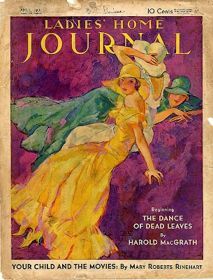 Vintage Ladies Home Journal Magazine Cover