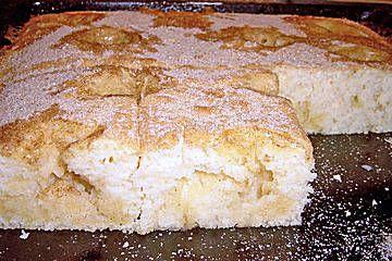 Buttermilch - Zimt - Kuchen vom Blech