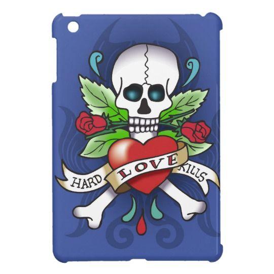 I pad mini sleeve with skull iPad mini cases