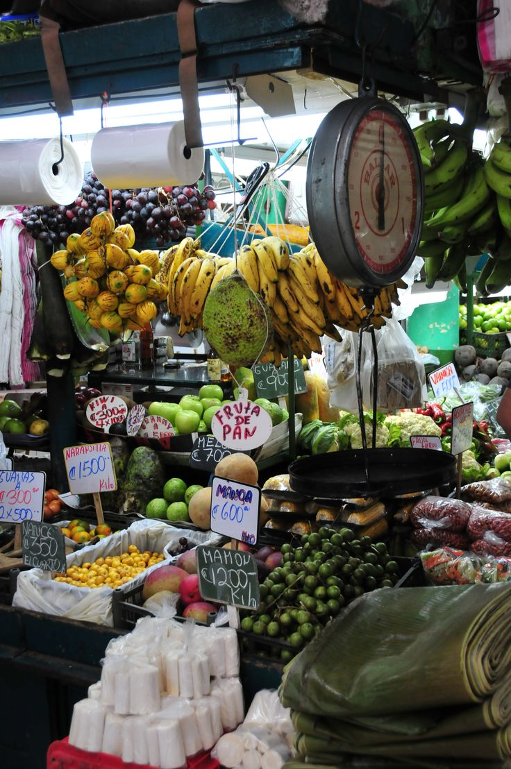 San Jose. Market. Costa Rica.