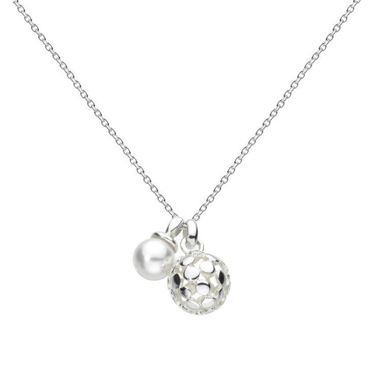 Bubble Swarovski Pearl  Necklace