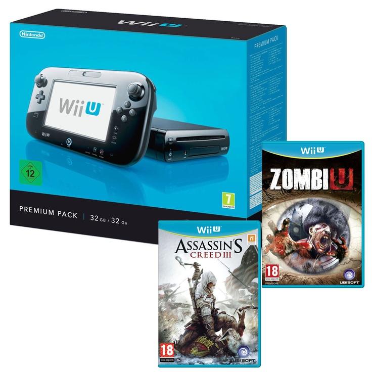 Console Nintendo Wii U 32 Go + Wii U GamePad + Wii U Pro + Pack Premium + 2 jeux LDLC.COM