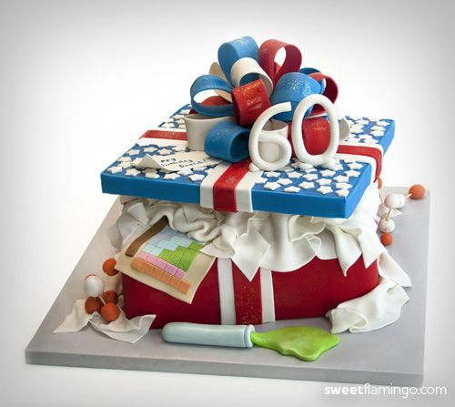 92 Best Images About Cakes 60th Birthday On Pinterest