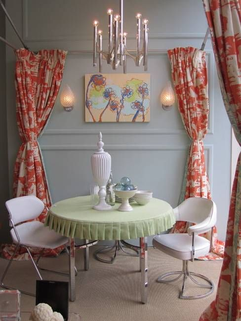 dining room design and decor with different dining chairs