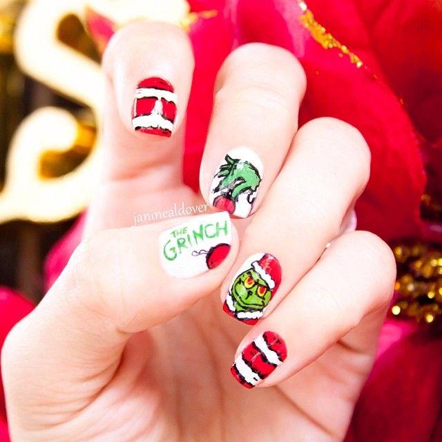Christmas by janinealdover #nail #nails #nailart