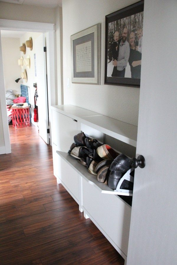 hallway shoe storage solution shoe storage doorsbright