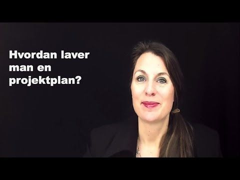 Hvordan laver man en projektplan? - YouTube