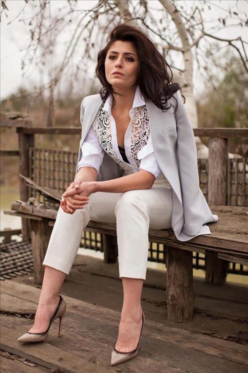 Deniz Çakir - Vogue Magazine Pictorial [Turkey] (April 2013)