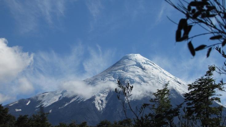 Volcán Osorno. Foto de Javier Monsalves Muñoz.