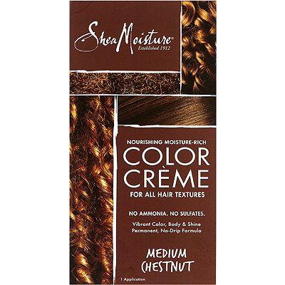 SheaMoisture Nourishing, Moisture-Rich, Ammonia-Free Hair Color System Medium Chestnut