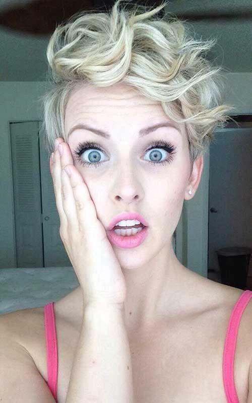 Image result for pixie updo asymmetric