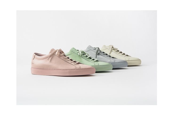 Common Projects, the undisputed masters of luxe sneaker minimalism just unveiled its SS16 range, which kind of feels like the first bloom of spring.