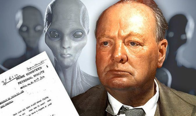 FYI: CHURCHILL'S X-FILES: Bulldog PM ordered UFO inquiry but 'covered up results' | Weird | News