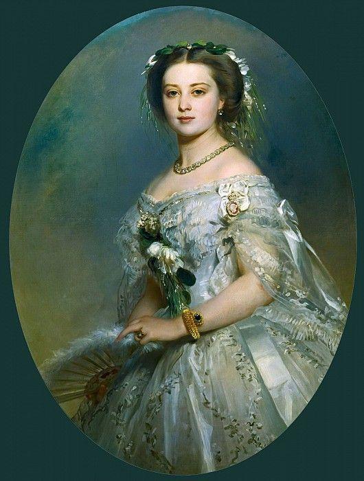 Принцесса Виктория (1840-1901) Франц Ксавьер Винтерхальтер (1805-1873)