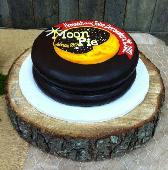 Moon Pie Cake Moonpies Pinterest Moon Pies Pie
