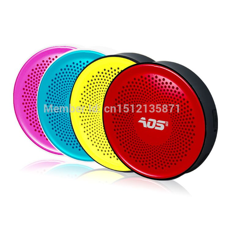 Find More Speakers Information about AOS High Qulity Mini Wireless Metal Waterproof Bluetooth Speaker Hands Free Speakers  For Apple & Android Devices PC Computer,High Quality speaker oem,China speaker for Suppliers, Cheap speaker resistor from The little girl-match on Aliexpress.com