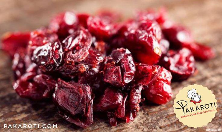 Manisan Cranberry merupakan Buah Cranberry yang dikeringkan, rasanya manis asam. Manisan buah Cranberry bisa jadi makanan sehat, terutama untuk wanita yang kerap alami infeksi pada kandung kemih. #Bakerspedia