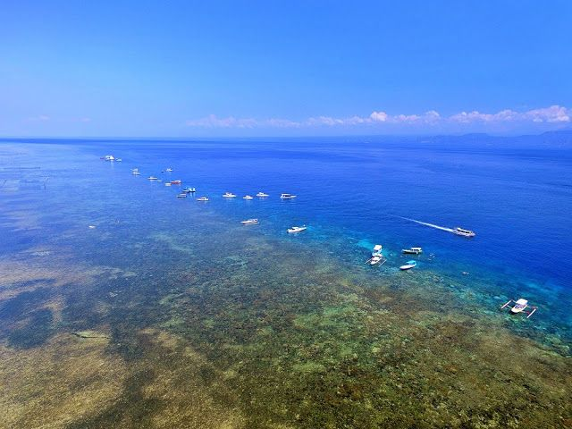 新・バリの素(もと): 鳥になってレンボンガン島を眺める!?・・・ドローンで空撮してきました。
