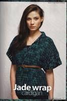 Jade Wrap Cardigan free crochet pattern