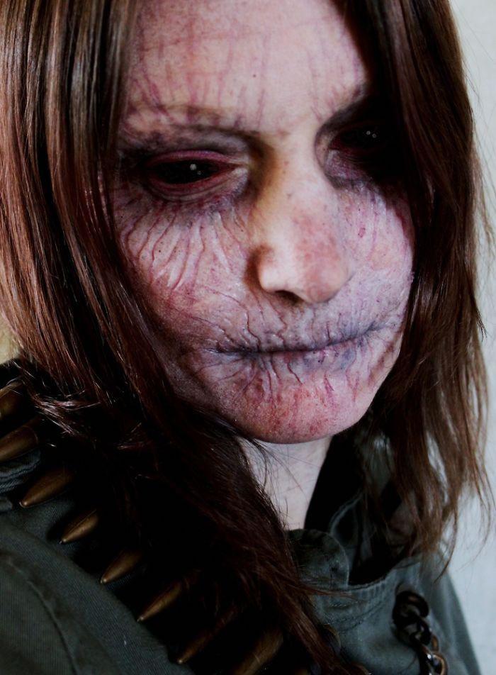 25 Scariest Halloween Makeup Ideas Face Off (shared via SlingPic)