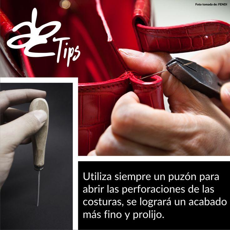 abcherrajesTip: Utiliza siempre un #Punzón para abrir las perforaciones de las #Costuras, se logrará un acabado más fino y prolijo. #ABCHerrajes #ABCTips #Herramientas  Visítanos en: www.abcherrajes.com