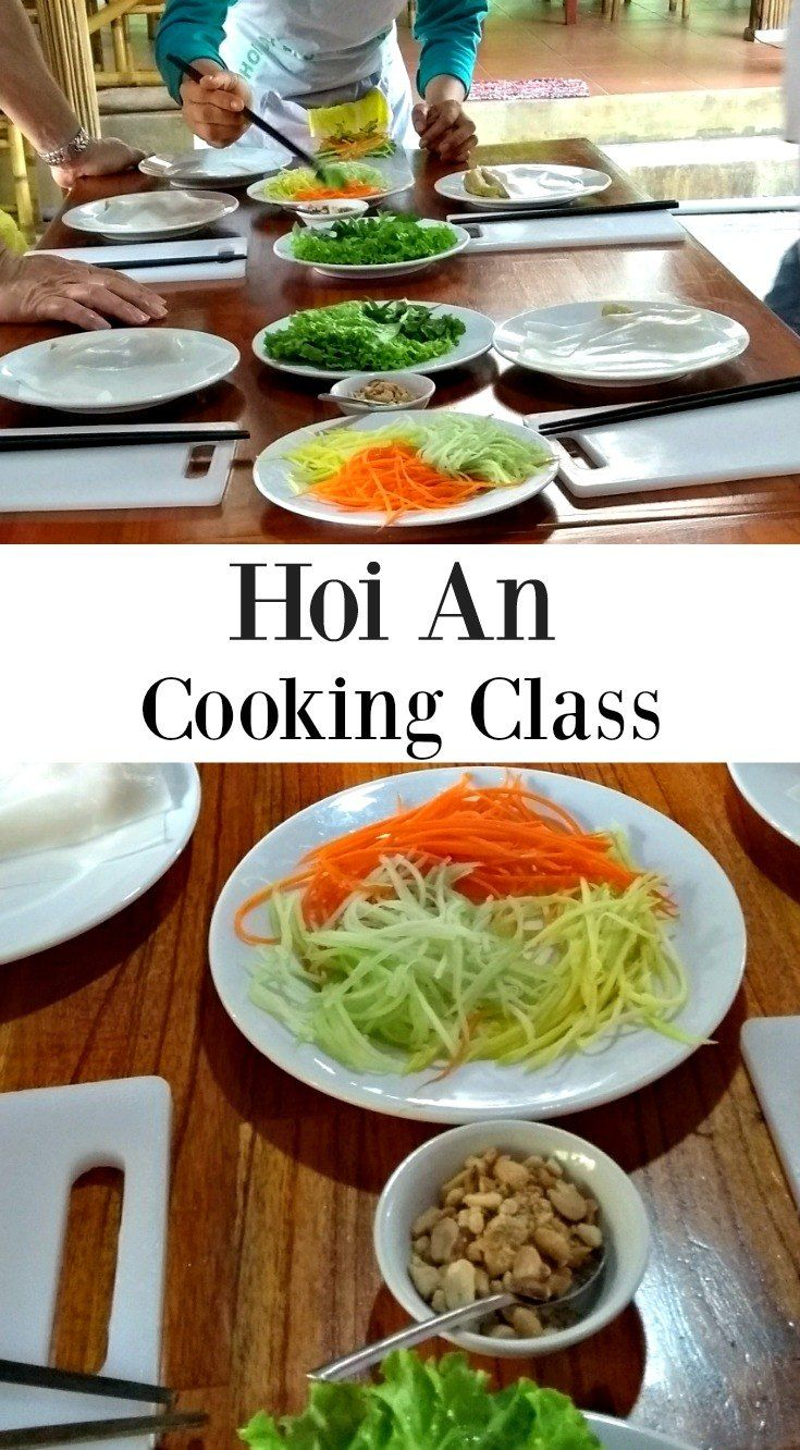 Hoi An Cooking Class ( Our Favourite! By a Professional Chef)