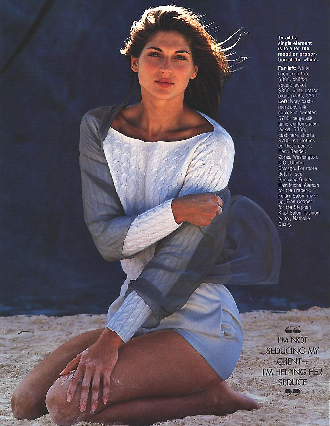 Elle (US) January 1994 Come Clean Photography by Gilles ...