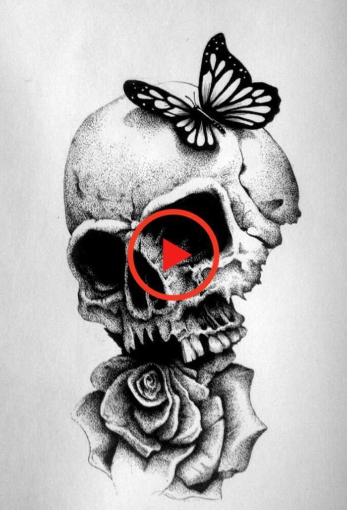22+ Rose noir et blanc tatouage inspirations