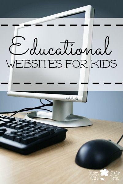 10+ Educational Websites for #Kids