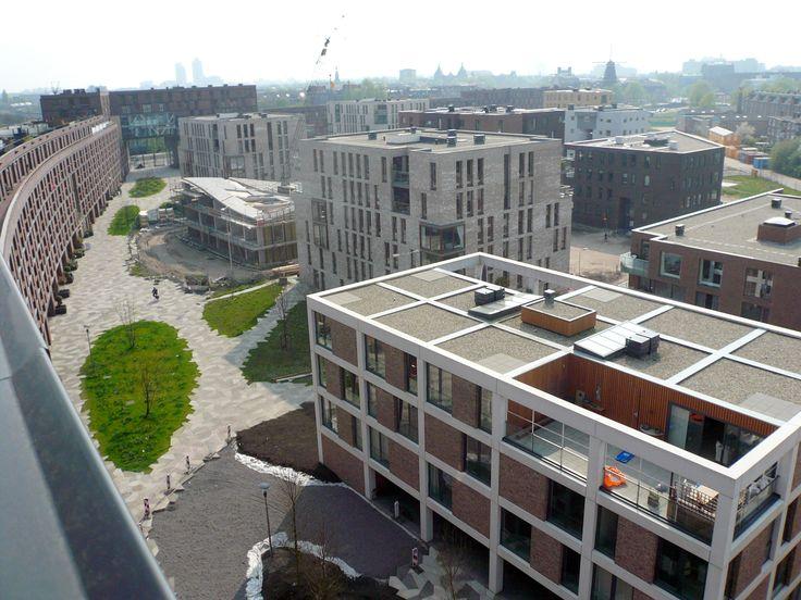 van Dongen–Koschuch Architects and Planners   Stedenbouwkundig plan Het Funen, Amsterdam