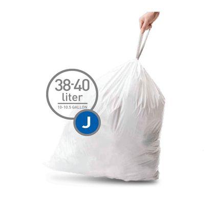 Simplehuman Afvalzak Code J - 38-40 Liter (20 stuks) - 8,75