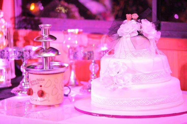 Torta de Novios, decoración
