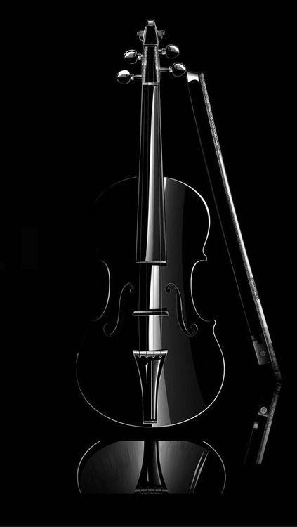 Violin, Sophistication, Elegance, Black on Black