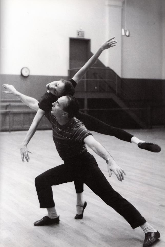 George Balanchine and Maria Tallchief
