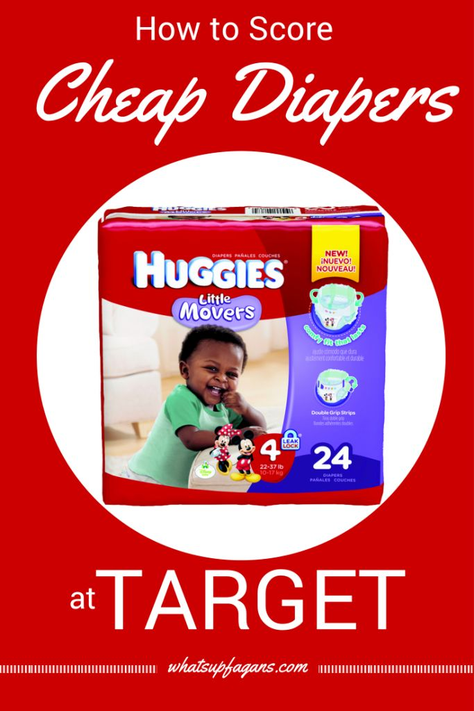 Diapers are expensive, so it's awesome to know how I can score cheap diapers at Target! Some great money saving tips and tricks to maximize those savings.