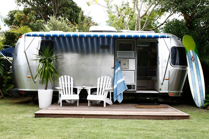 The Airstream Trailer .... camping taken to another level