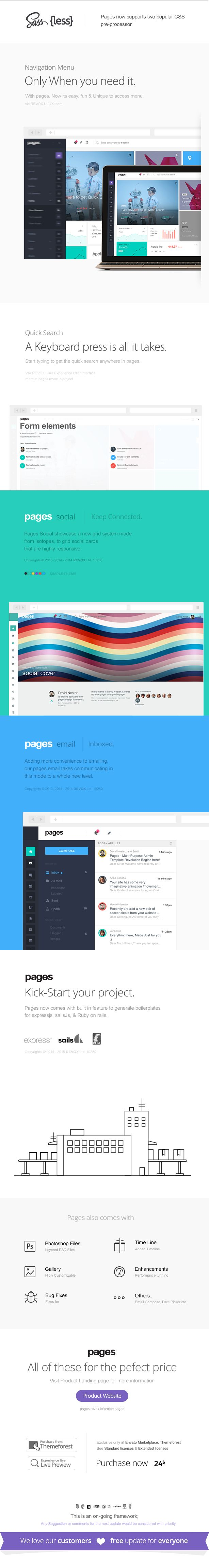 Pages - Admin Dashboard Template & Web App • Download theme ➝…