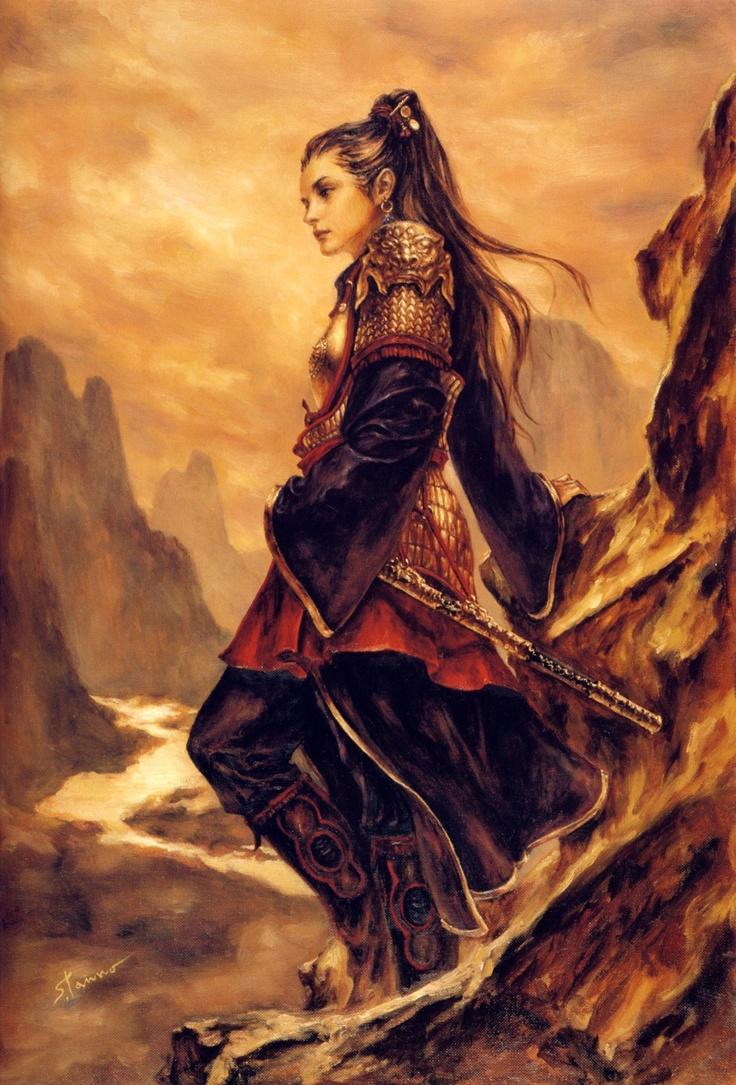 17 best ideas about woman warrior on pinterest warriors - Fantasy female warrior artwork ...