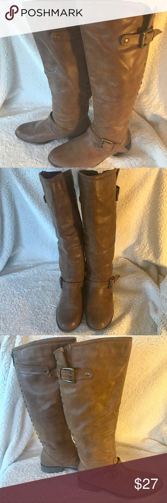 Madden Girl Cactuss Boots 9 GUC Madden Girl Cactuss Boots 9 GUC Madden Girl Shoes Over the Knee Boots