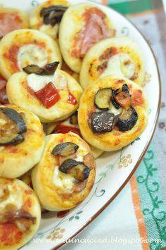 Blog di cucina di Aria: Le pizzette di Diego
