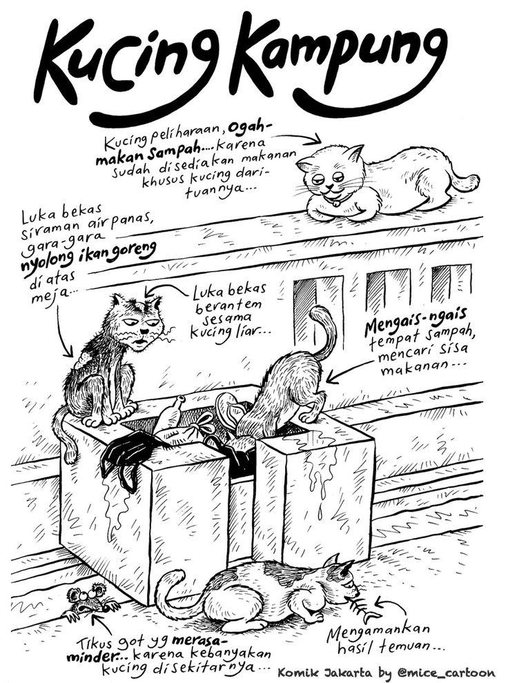 Mice Cartoon, Komik Jakarta - November 2015: Kucing Kampung