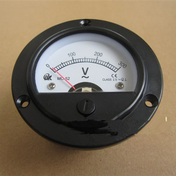 Find More Generator Parts & Accessories Information about  round head  voltmeter for Gasoline generator parts,2 kw 5 kw 168F/188F 0 300V  General single phase round head panel voltmeter,High Quality Generator Parts & Accessories from Cathy 's Supper Store on Aliexpress.com