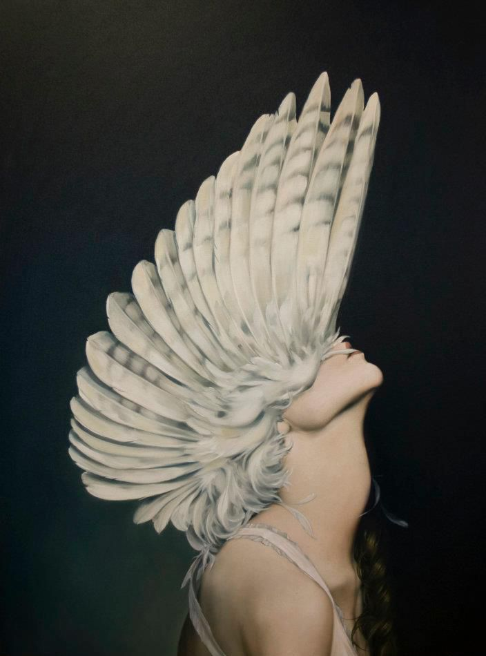 "artchipel:  Amy Judd - Ascending Athena. Oil on canvas, 30""x40"""